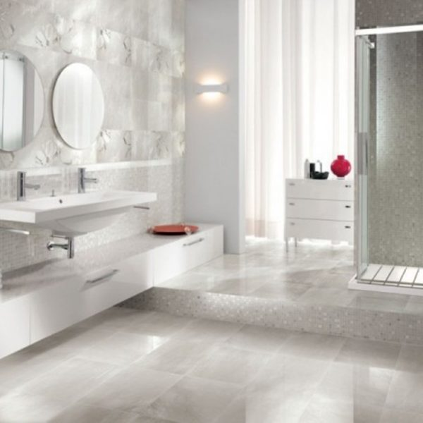 Ceramic Bathroom Flooring