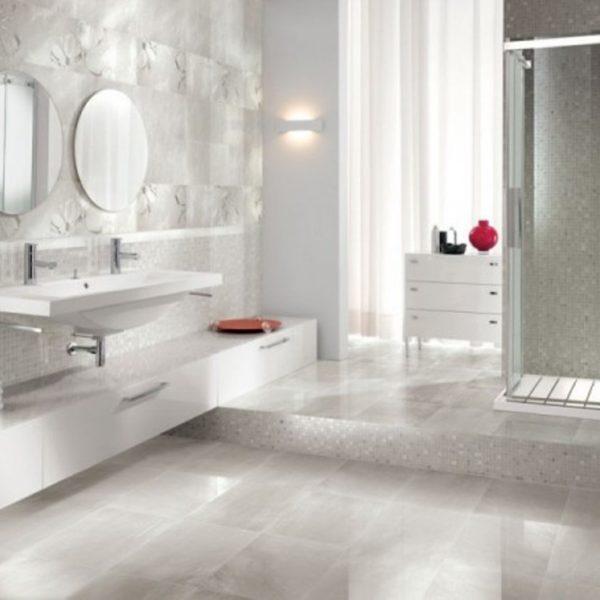Ceramic Bathroom Flooring