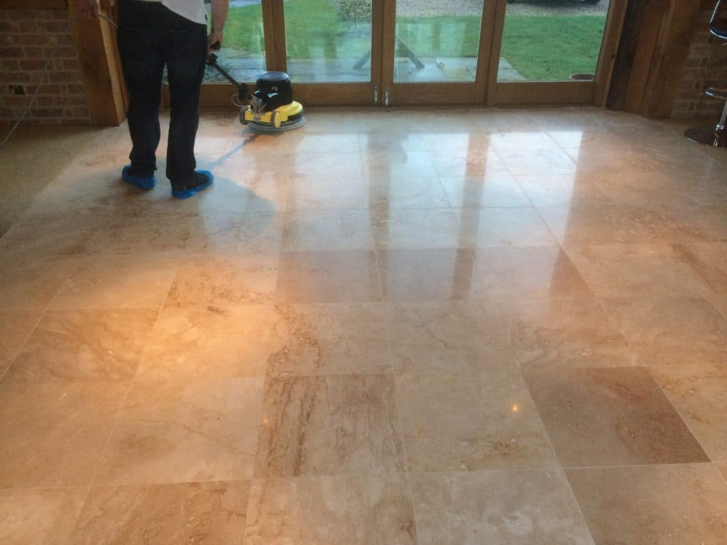 Travertine Maintenance